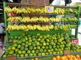 got fruit the very best papaya and mangoes come from the islands