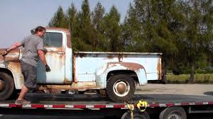 Classic Ford Diesel Truck - classic truck rescue 57 chevy u0026 56 ford youtube