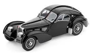 amazon com classic model cars bugatti 57 sc atlantic 1937 black