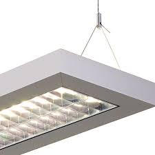 suspension néon éclairage puissant pour bureau eclairage professionnel