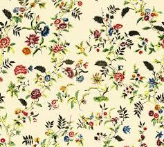 rococo painted silk c 1750 60 fabric bonnie phantasm