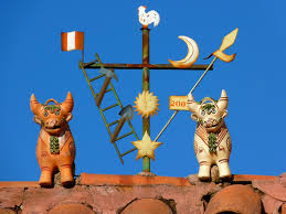 free photo home roof ornament bulls cusco free image on