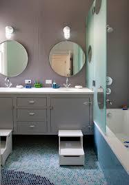 Decorative Mirrors For Bathroom Decorative Mirrors For Bathrooms Bathroom Contemporary With Step