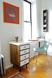 Small Mid Century Desk Office Desk Home Office Desk Designs Mid Century Modern Ballard