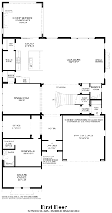 House Plans With Butlers Pantry Estrella At Altair The Callisto Home Design