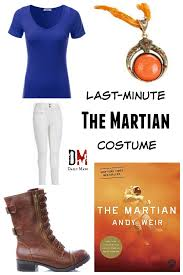 last minute the martian costume daily mayo