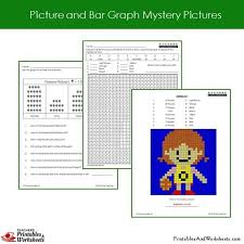 2nd grade picture graph and bar graph coloring worksheets