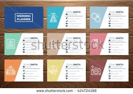 wedding planner business wedding planner business card template free vector