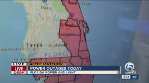 Florida Power And Light Outage Map by Power Outages Today Youtube