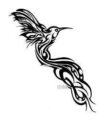 hummingbird tribal by weedenstein deviantart com on deviantart