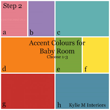 paint accent colours for gender neutral nursery baby room best