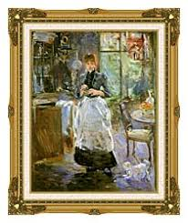 Berthe Morisot In The Dining Room Canvas Prints And Framed Art At - Berthe morisot in the dining room
