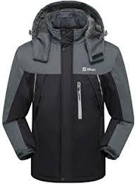 black friday ski gear amazon com wantdo men u0027s mountain waterproof fleece ski jacket