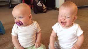 cute twins babies share a pacifier funny baby video youtube
