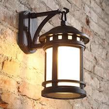 retro outdoor light fixtures 2018 american style retro outdoor l antique european style