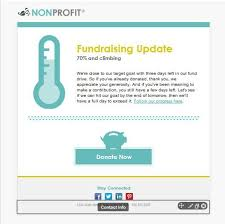 In Our New Nonprofit Fundraiser Template You Have The Option Of 20 Thermometer For Fundraising Template
