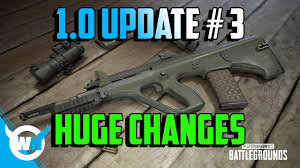 pubg killcam pubg 1 0 update 3 new weapons killcam optimization new ui
