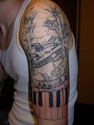 piano tattoos and designs page 3