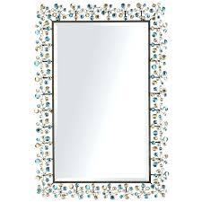 bathroom mirrors pier one pier one bathroom mirrors pier 1 peacock dazzle mirror pier one