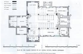 All Saints Church Floor Plans by Discovering St George Visit Nunneyvisit Nunney