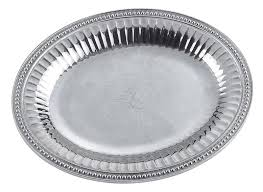 oven to table platter wilton armetale oven to table oval platter with beaded trim 12 w