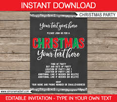 printable christmas gift tags invitations u0026 decorations chalkboard