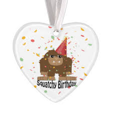 sasquatch ornaments keepsake ornaments zazzle