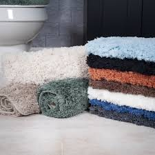 Non Skid Bath Rugs Windsor Home 3 Piece Plush Non Slip Bath Rug Set Free Shipping