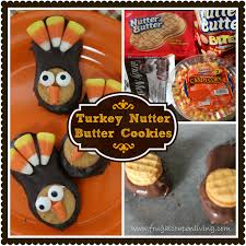 thanksgiving oreo turkey cookies recipe turkey nutter butter cookies tutorial thanksgiving food craft