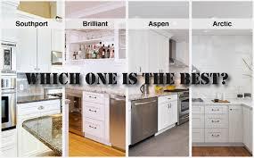 white shaker kitchen cabinets cost white shaker shoutout the rta store cabinet comparison