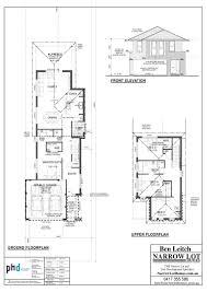 3 Story Beach House Plans Narrow Lot Beach House Plans Planskill Minimalist For 2 Story At