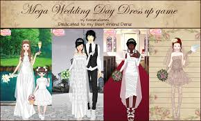 wedding dress up mega wedding day dress up by rinmaru on deviantart