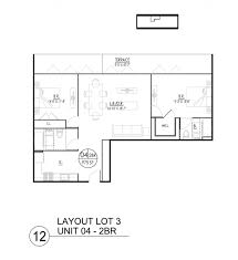 Two Bedroom Floor Plan Interior Design 17 3d Floor Plan Interior Designs