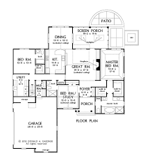 gardner floor plans traditional style house plan 3 beds 3 baths 2028 sq ft plan 929