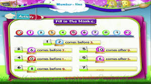 learn grade 1 maths number line youtube