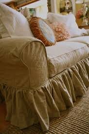 shabby chic sofa slipcover 7 best sally u0027s linen slipcover images on pinterest sofa