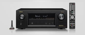 av receiver home theater safeandsoundhq denon avr x2400w 7 2 channel a v receiver with