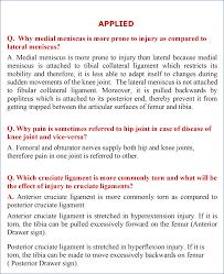 Nerves In The Knee Anatomy Knee Joint Anatomy Qa