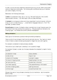 ks4 descriptive writing teachit english