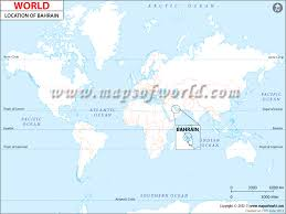 map of bahrain where is bahrain location of bahrain