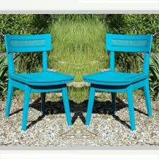 Woven Dining Room Chairs 2 Chairs Vintage Pair Turquoise Teal Mid Century Modern Furniture