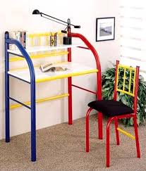 study table chair online furniturekraft study table chair set in red and yellow buy