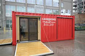 mobile caribbeing shipping container pavilion brings caribbean art