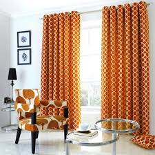 Burnt Orange Curtains Orange And Grey Curtains Teawing Co