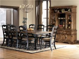 black dining room set dining room white and black modern sets