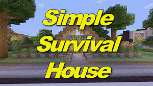 Minecraft House Design Ideas Xbox Minecraft Xbox 360 Simple Survival House House Tours Of