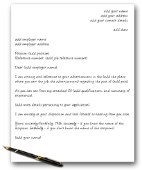 how to make an impact with a speculative cover letter edugold