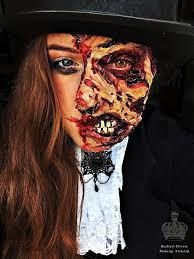 Halloween Makeup Burned Face by Gurn Burn Gory Halloween Makeup Look Rachael Divers Makeup Artistry