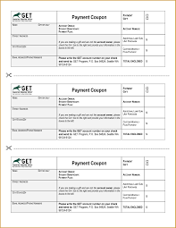 payment booklet template 28 images excel payment coupon