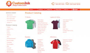 uberprints vs zazzle vs customink custom t shirt shops compared